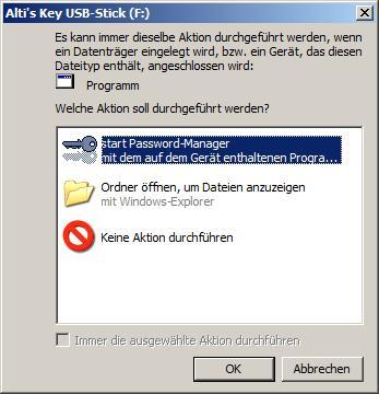 Autorun / Autoplay for USB devices